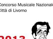 Premio Ciampi 2013 Città Livorno Musicale Nazionale terrà venerdì sabato ottobre 2013.