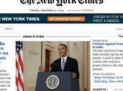 Giornalismo online: autunno caldo, York Times Corriere della Sera confronto.
