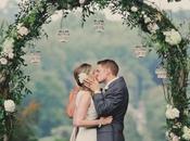 tocco simbolico decorativo cerimonia: l'arco nozze