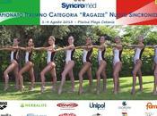 Nuoto sincronizzato, campionati estivi categoria ragazze, risultati.