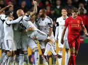Swansea Liverpool 2-2: decide Shelvey, bene male