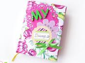 Scrapbooking: diario scolastico personalizzato Altered school diary