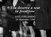 #MFW Live Streaming Alberta Ferretti fashion show