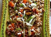 Venerdi vegetariano Starbooks: insalata farro, zucca finocchi