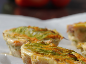 Ricette light troppo buone resistere Tortini vegetariani fiori zucca cuore filante verdure