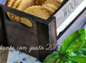 Biscottoni farina Verna, olio extravergine, limone basilico