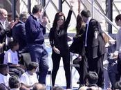 Polemiche d'Argentina: leggins della presidente Cristina Fernández Kirchner