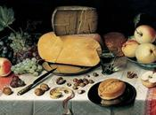 Formaggio Casera stagionato marinato, rucola selvatica bellezza formaggio nell'Arte!