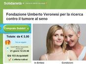 Groupon Fondazione Veronesi, coupon solidale contro cancro seno