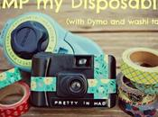 PIMP Disposable! (with Dymo Washi Tape)