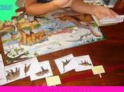 Quando bambini adorano dinosauri
