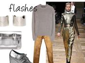 Trend 2013 Metallic flashes.