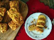 Mini plum-cake prosciutto crudo MondoSnello mais fieno greco: maiale polenta finger