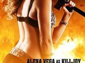 fisico paura Alexa Vega nuovo character poster Machete Kills