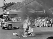 Fotografia della Storia Fotografia. L'immolazione monaco buddista