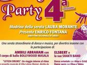 Bollywood party Roma aiutare bimbi ragazze-madri India