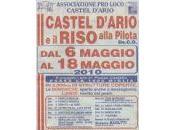 Castel d'Ario: festa riso alla pilota fino