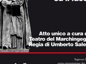 "Teatro: ""ArdenteMente Giordano Bruno, luce fuoco"" (Sanremo, mercoledì gennaio, 21:15)"