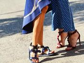 Spotted: Alaia studded suede sandals