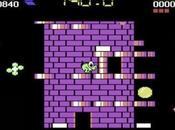 Nebulus videogioco piattaforme, quale impersona buffo alieno verde chiamato Pogo.