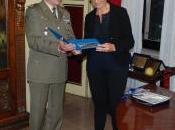 Roberta PINOTTI visita Centro Selezione Reclutamento Nazionale dell'Esercito Foligno
