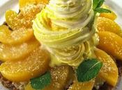 ricette dolci frutta: oggi momento delle pesche, buonissime mangiate nature, anche dolci.