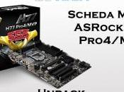 Scheda madre ASRock Pro4/MVP Unpack caratteristiche
