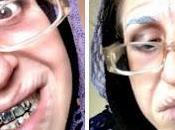 Invecchiamento tutorial halloween /elderly woman
