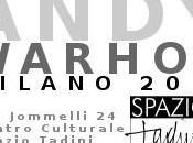 WARHOL Milano: un'opera unica Andy Warhol mostra SPAZIO TADINI