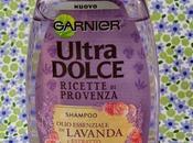Garnier Ultra Dolce Ricette Provenza- Shampoo olio essenziale Lavanda estratto Rosa