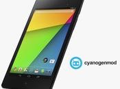 Guida download installazione firmware CyanogenMod 10.2 Nexus 2013