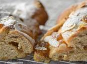 Re-Cake: treccia integrale confettura pere caramello cannella
