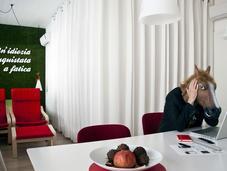 Un'idiozia conquistata fatica: residenza studio stefano gambacciani