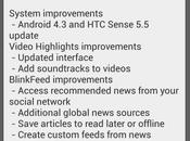 Aggiornamento Android Sense primo video