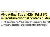 Elezioni Trentimo-Alto Adige: meglio sondaggio Euromedia