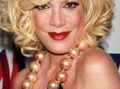 """Beverly Hills: Tori Spelling confessa """"sono corto soldi"""""""
