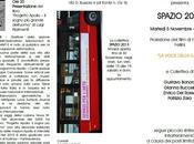 """NEWS. Invito proiezione Voce della Luna"""" Federico Fellini+Vernissage Spazio 2013"""