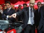 Eicma 2013: vicepremier Angelino Alfano visita stand Ducati
