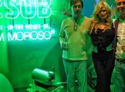 Marc newson designer meet audrey tritto heineken party milan
