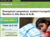 Groupon l'emergenza Lampedusa insieme Ai.Bi Amici Bambini