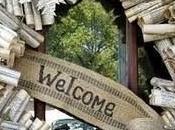 Home sweeet Gnome: ghirlanda benvenuto messaggi sorpresa