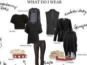 What wear… look TOTAL BLACK?