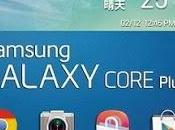 Samsung lancia Galaxy Core Plus mercatodi Taiwan