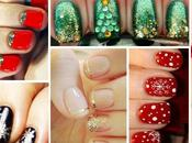 Nail Natale: tante idee manicure natalizia
