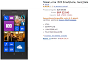 Nokia Lumia 1020 scontati Amazon
