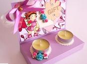 Scrapbooking: Scatola Regalo porta Candele Candles Gift