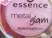 ESSENCE Metal Glam eyeshadow (swatch review)