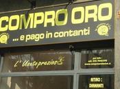Compro Oro: altro fenomeno prodotto dalla nostra cara necessaria CRISI.