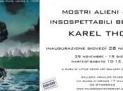 """""""Mostri, alieni Co"""": insospettabili bellezze, copertine Karel Thole, novembre dicembre, Milano"""