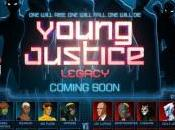 "Young Justice: Legacy online trailer ""Rise, Fall Die"""